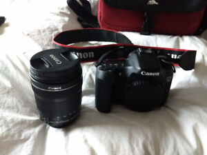 Canon 70D + Photography Kit