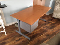 Large IKEA Desk with two drawers - PICK UP TODAY/TOMORROW