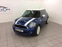 Mini Mini 1.6 ( 175bhp ) ( Chili ) Cooper S White Alloys Blue Metallic