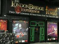 London bridge experience adult ticket
