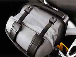 Right side BMW k1200s soft expandable case.
