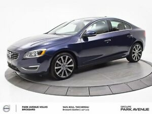 2015 Volvo S60 T6 Premier Plus TECH+CONVENIENCE PACK, XENON