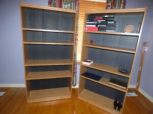 BOOK SHELF X 2 $200 FOR BOTH!