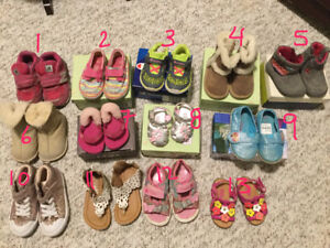 Toddler girls shoes lot, or by pair