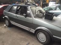Golf mk1 &mk2 parts breaking all parts available can post at cost