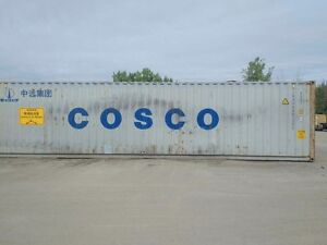 20' and 40' storage containers