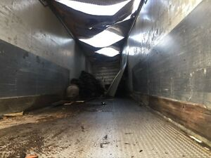 Aluminum tractor trailer for sale 600$ London Ontario image 3