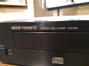 Vector Reasearch VCD-900 CD player TOTL