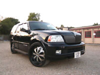 FRESH IMPORT LINCOLN NAVIGATOR V8 AUTOMATIC 7 SEATER IN BLACK NOT ESCALADE