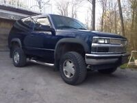 97 lifted Chevy Tahoe 4x4
