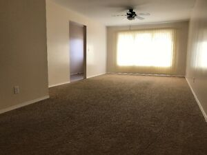 Large 3-bedroom main floor suite with garage