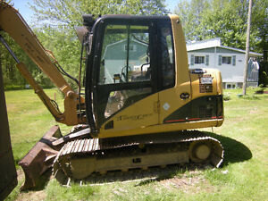 EXCAVATRICE CATERPILLAR 307CL