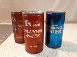 CP  RAIL CANNED DRINKING WATER