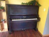 Morris upright piano
