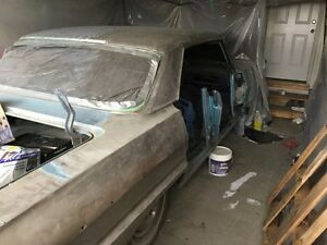 Complete 1964 Chevy Impala Project Car. Asking $1500