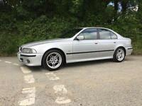 2002 02 BMW 525i SPORT E39 TITANIUM SILVER ONLY 87000 MILES LOVELY EXAMPLE