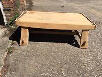 Big shabby chic coffee table