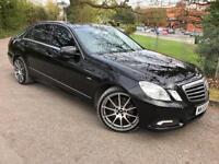 2009/59 Mercedes-Benz E350 3.0CDI (231bhp) Auto Avantgarde, Black, FSH