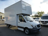 2014 Mercedes-Benz Sprinter 313 CDi LWB 4m EXTRA HIGH LUTON, direct Merc lease