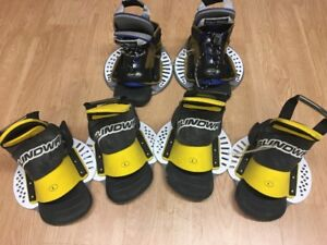 WAKEBOARD BOOTS ~ 3 pairs brand new