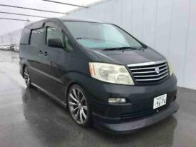 TOYOTA ALPHARD CAMPER VAN,MOTORHOME,ONLY 28K MILE FROM NEW ~KITCHEN~POPTOP ROOF~