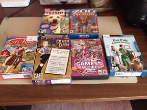 Assorted Children's PC Games