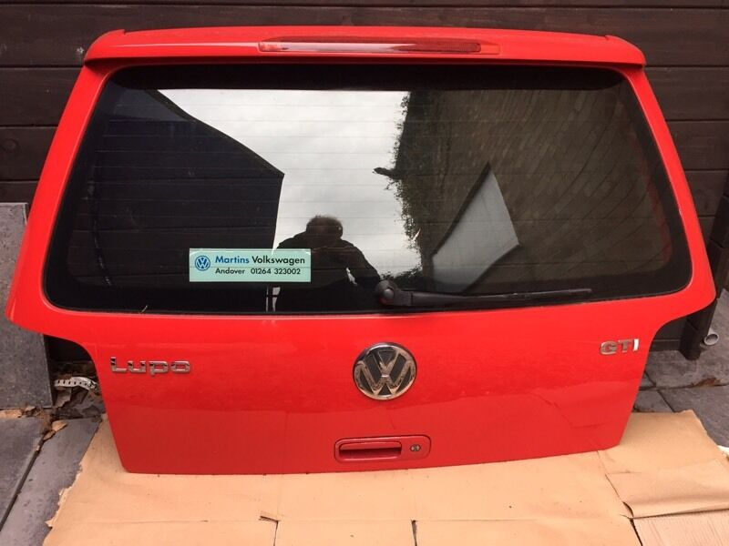 lupo gti rear spoiler in atherstone warwickshire gumtree. Black Bedroom Furniture Sets. Home Design Ideas