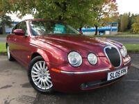 Jaguar S-Type 3.0 V6 SE (red) 2005