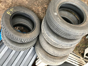 Tires for sale, 215-70-15x4, 185-65-14x2