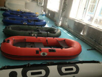 Inflatable boats, 1.2mm PVC Transport Canada Approved