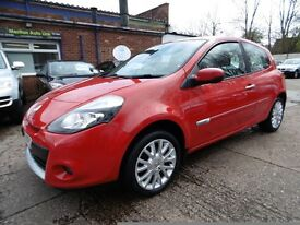 Renault Clio 1.5 DCI 86 TOMTOM EDITION (12 MONTH MOT + SAT NAV) (red) 2009