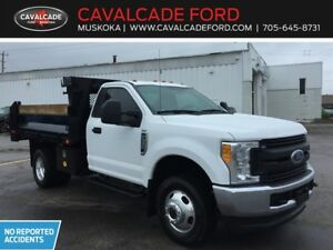 2017 Ford F350 4x4 Regular Cab DRW XLT DUMP LANDSCAPER BOX