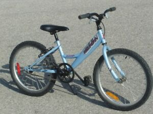 """USED 4 MONTHS GIRLS 20"""" RALEIGH BIG HORN FIRST $75.00 TAKES IT!"""