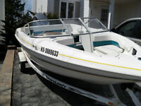 17 foot GLASTRON  BOWRIDER 90HP-ready for the Water