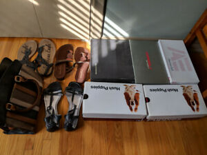 Brand new ladies shoes and sandals size 11 & 12