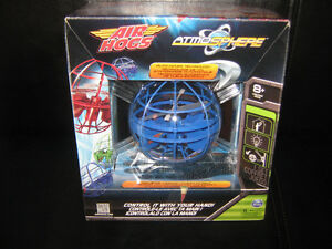 NEW BLUE AIR HOGS RC ATMOSPHERE AUTO-HOVER TECHNOLOGY FLYING TOY London Ontario image 1