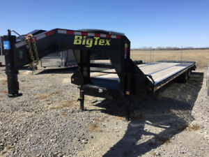 Big Tex Gooseneck 28ft + 5ft Tandem with Mega Ramps - 3503