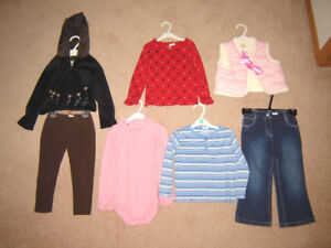 Girls Clothes, Dresses - size 3, 4, 5 / Winter Hats, Boots sz 8