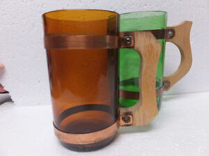 SIESTA WARE BEER BARREL MUG SET OF TWO