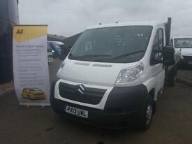 Citroen Relay 2.2HDi ( 130 ) 35 L3 dropside pickup **One company owner 60k miles