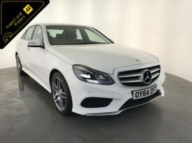 2014 64 MERCEDES BENZ E220 AMG LINE BLUETECH AUTOMATIC SERVICE HISTORY FINANCE