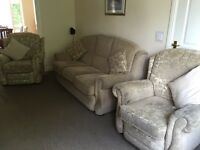 3 piece matching sofa and chairs