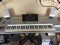 Yamaha Tyros 1 keyboard, with sub woofer and speakers, £500 ono