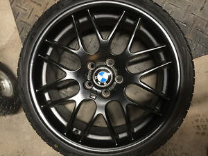 """BMW CSL style wheels and tires 19"""""""
