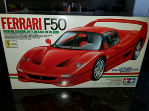 SOLD 1:12 Diecast Tamiya Ferrari F50 Collectors Club Special Red