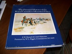 Book Pictorial History Royal Canadian Mounted Police
