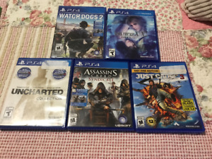 Playstation PS4 games - Read for prices