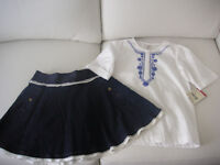 Girl's size 7 outfit