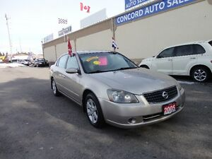 2005 Nissan Altima 2.5 S Sedan E-TESTED & CERT