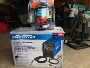 Mastercraft mig/flux-core wire feed welder kit